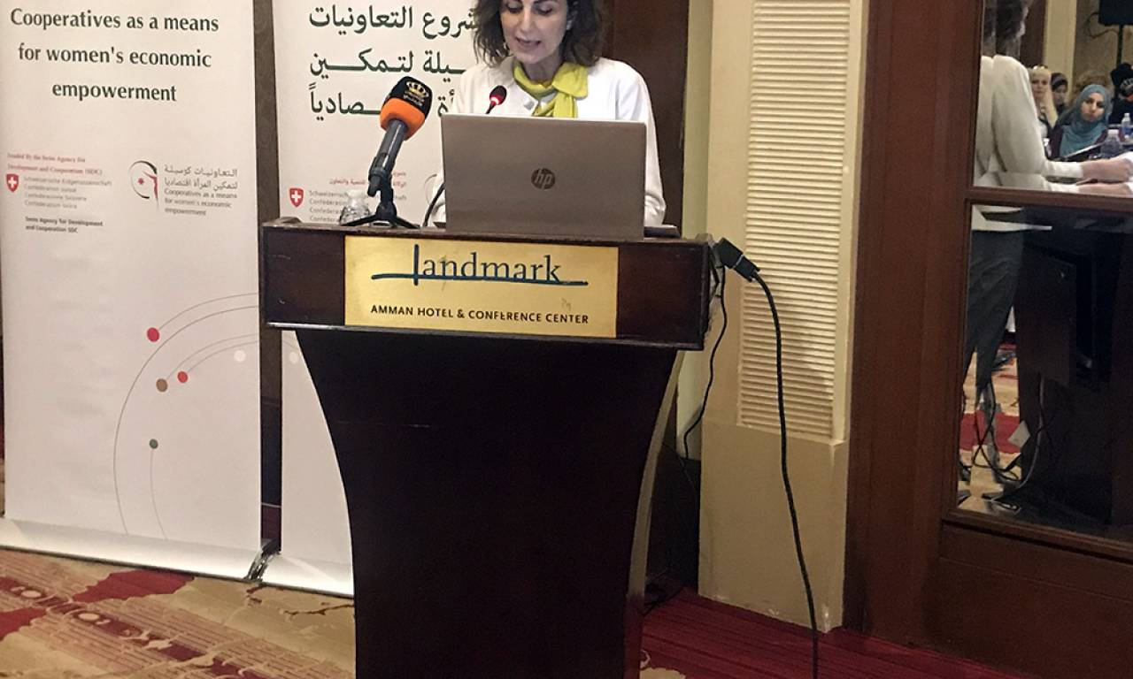 Dr. Salma Nims, Secretary-General of the Jordanian National Commission for Women (JNCW)